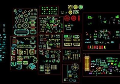 室内设计节点CAD综合图库