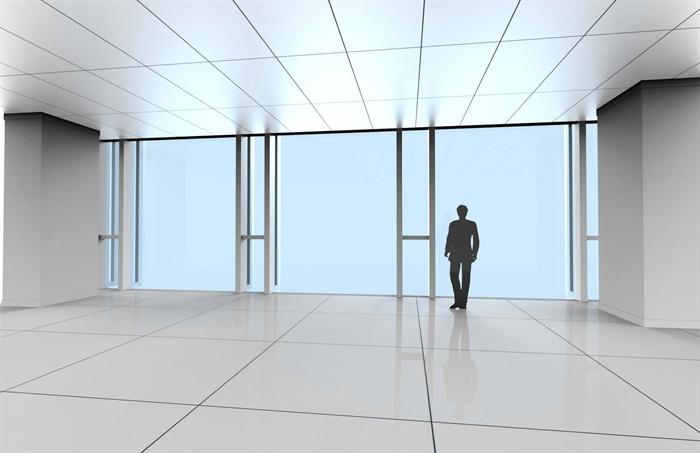 某现代玻璃幕墙Sketchup节点模型(含效果图)