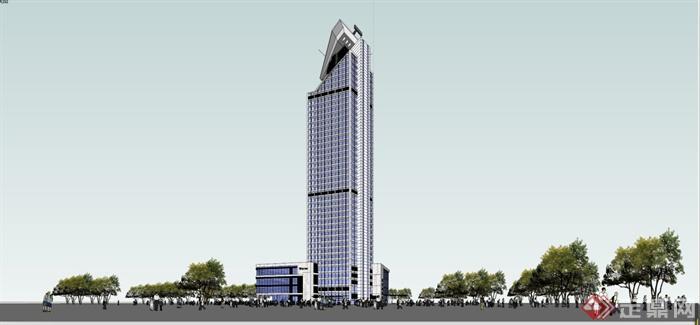 多个欧式,中式,现代酒店建筑设计su模型[原创]