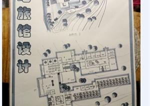 某山地旅馆快题设计方案参考