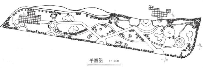 几张滨水绿地景观设计手绘稿