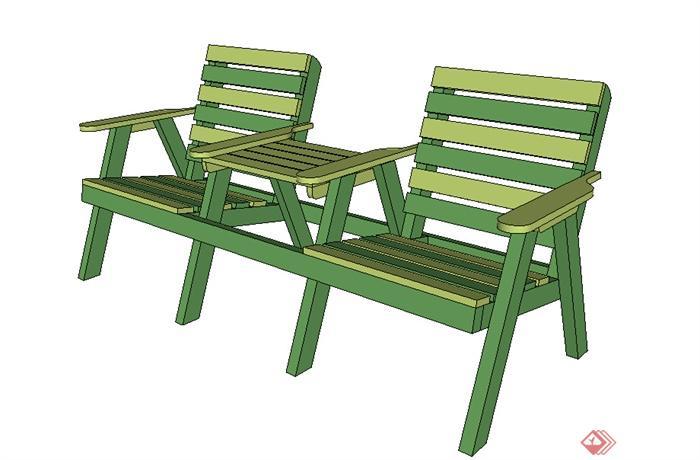 该压缩包里面包含某木质特色座椅SU模型格式的文件,模型设计的比较认真,颜色搭配的也比较简洁,可以供广大景观设计,园林设计人员参考使用,也可用作同类项目参考使用。
