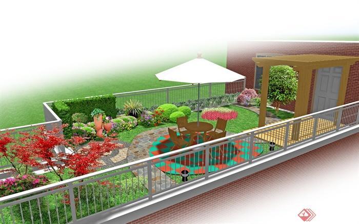 幼兒園樓頂花園 設計