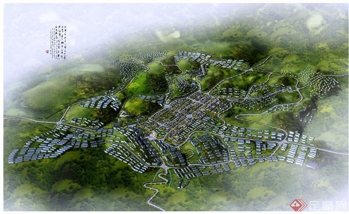 地厢坝城市旅游景观规划设计PPT方案