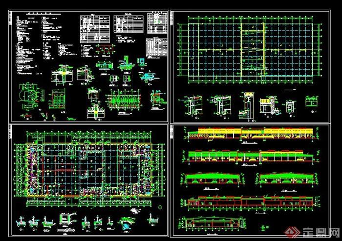 食品工厂厂区设计图展示