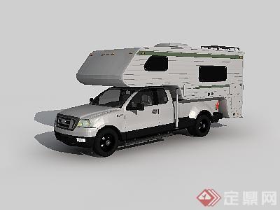 某房车设计3dmax模型素材