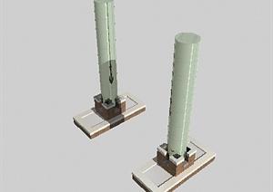 某特色景观柱设计3DMAX模型