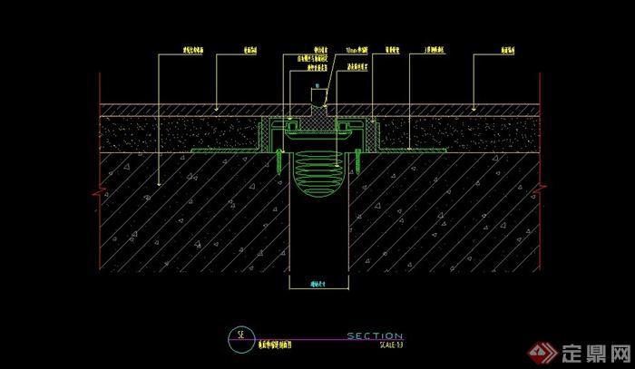多款室内墙体结构设计施工节点大全cad格式