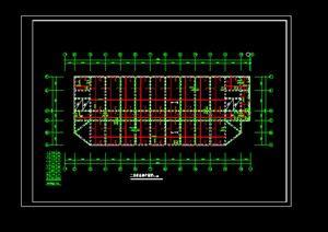 m 30m厂房建筑设计结构图纸 -施工图建筑规划设计方案素材下载
