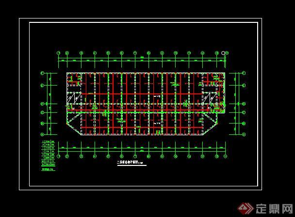某教学建筑施工图设计CAD图纸