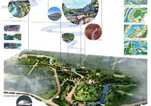 多张高校景观建筑毕业设计作品展板图