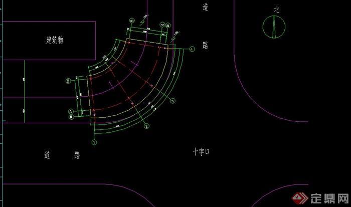 屋顶平面图,正侧立面图,结构平面,基础平面,钢架剖面和建筑总平图