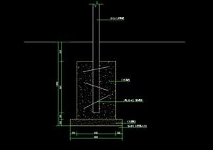 某车棚建筑设计CAD施工图