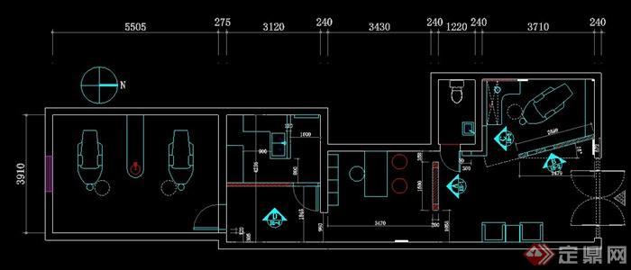 小诊所设计平面图_小诊所设计平面图分享展示