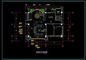 某住宅客厅装修设计施工图
