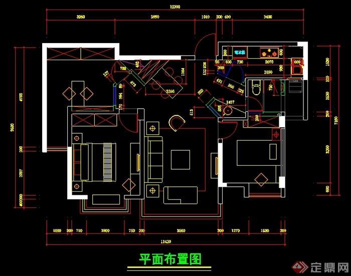 三层楼室内设计图纸展示