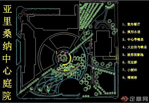 20余款園林景觀公園、廣場景觀設計平面圖,包括多種公園、廣場的景觀設計平面,圖紙比較細致,可供園林景觀前期設計參考,有需要自行下載。