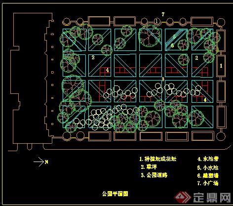 20余款園林景觀公園,廣場景觀設計平面圖