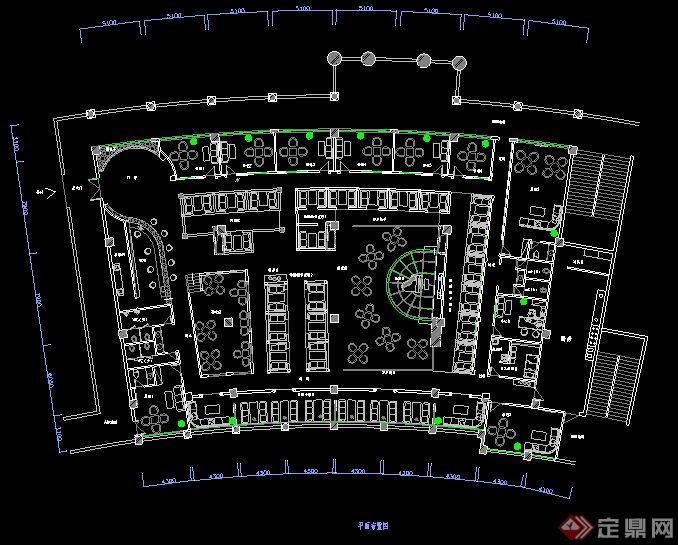 星巴克cad平面图_星巴克咖啡厅总平面图_平面设计图