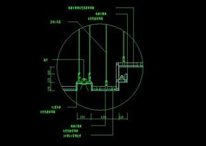 间室内装饰常用顶棚设计CAD施工图-室内设计细部天花顶棚