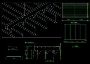 金属顶棚设计施工图