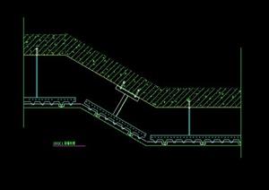 某建筑空间金属顶棚吊顶设计CAD图
