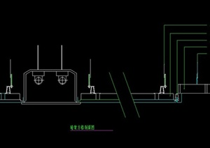 某室内装饰节点金属顶棚设计CAD施工图