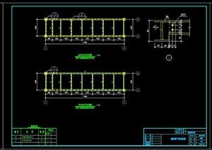 钢结构走廊设计施工图