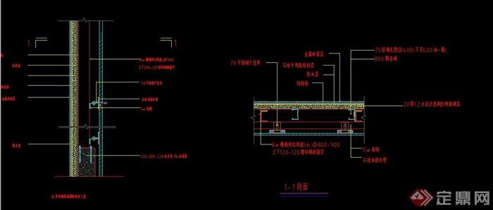 cad室内设计原始结构图墙体画法-请问室内设计原始图