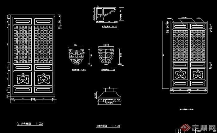 某大雄宝殿建筑设计结构图