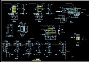 某钢结构建筑连廊设计CAD图
