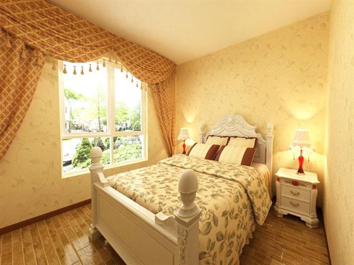 欧式风格三层住宅别墅室内装饰设计方案(含效果图、施工图、3d模型)(3)