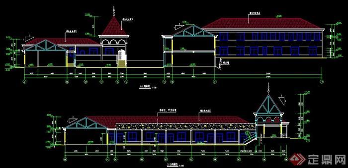 某欧式幼儿园建筑设计施工图纸
