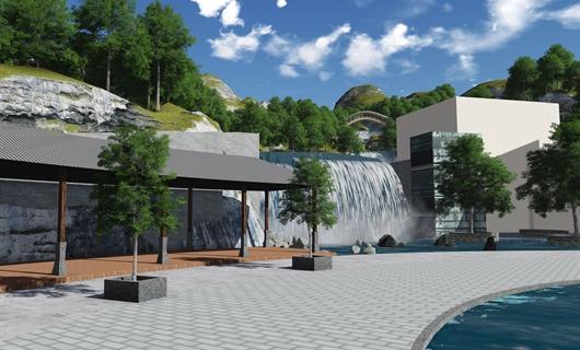 水泊凉山风情小镇入口景观设计方案