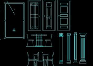 室内装修常用节点设计CAD图