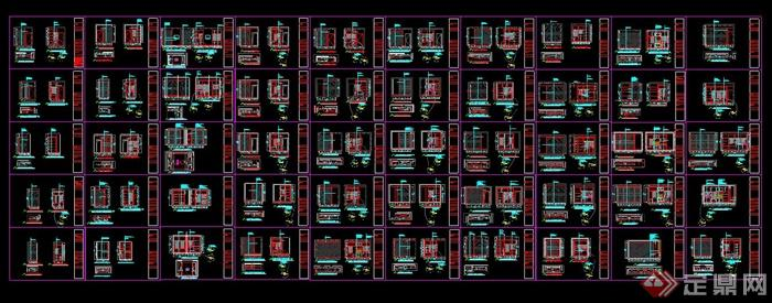 50套衣柜设计结构尺寸及大样图