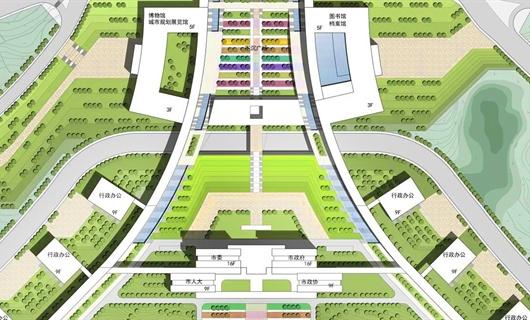 六盘水凤凰山城市综合体景观设计概念方案