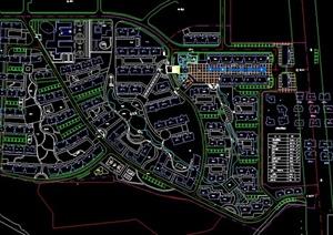 宅小区景观设计CAD平面图-其他园林景观设计方案效果图设计素材图片
