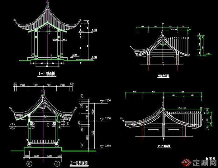 某中式古建筑设计以及节点施工图图片