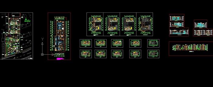 某中式风格养老院,敬老院住宅去建筑设计(含效果图)图片