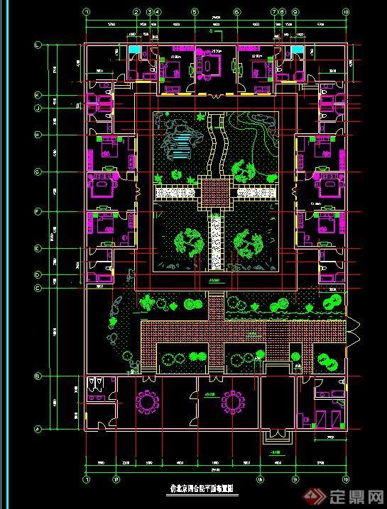 單層套房建筑設計圖展示