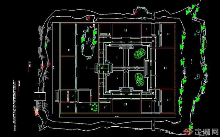 四合院设计图纸 自建展示