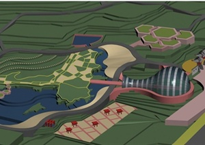 江苏快3高手Qgxt园林景观设计方案效果图设计