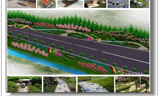 滨河大道初期规划方案-节点表现篇