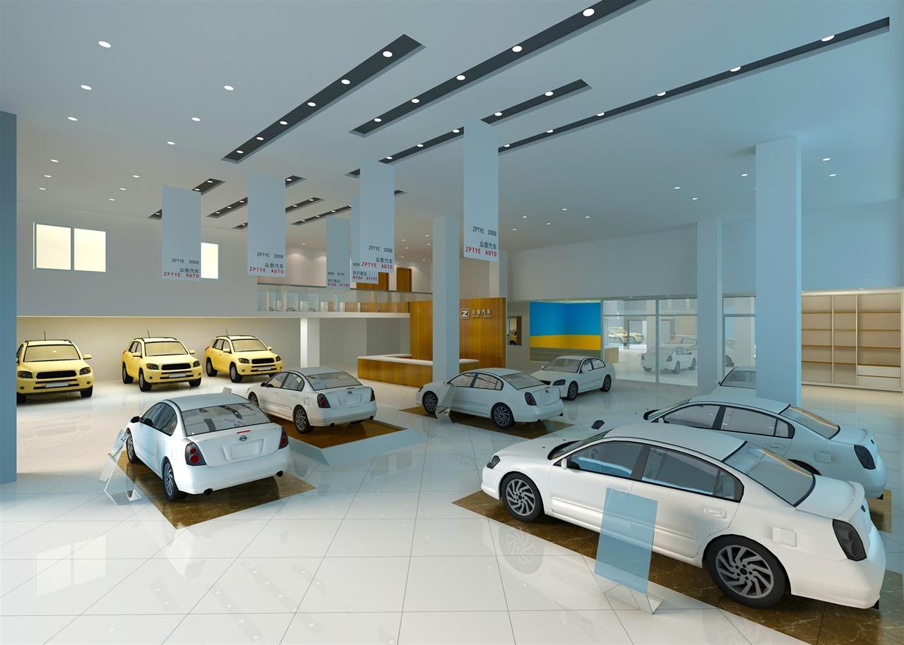 众泰4s店设计方案-等闲居室内设计工作室
