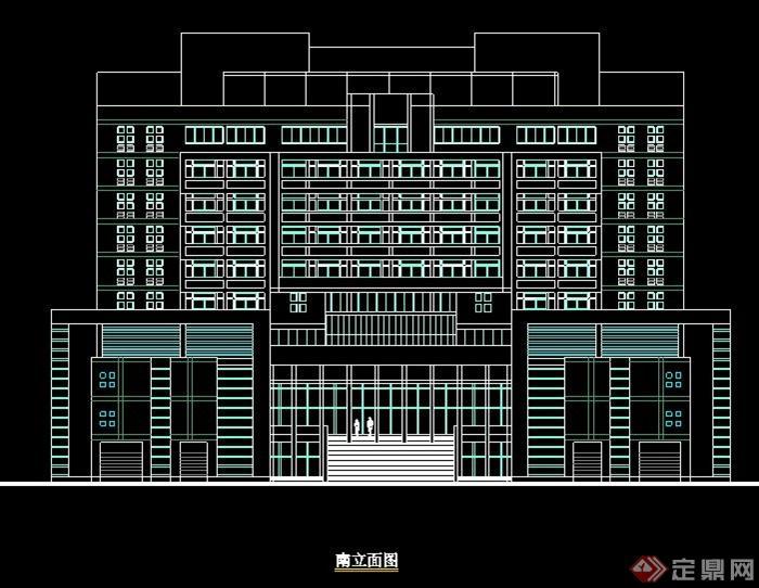某学校综合教学楼建筑设计图纸
