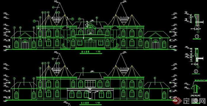 欧式风格幼儿园建筑设计方案图纸
