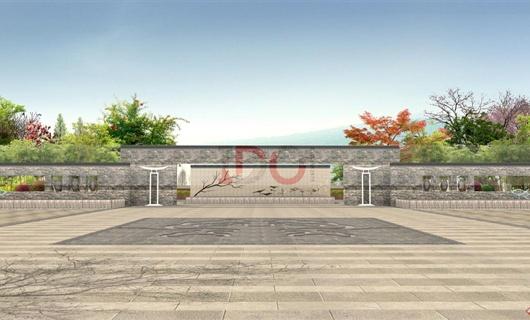 抚仙湖掬月旅游度假区——售楼部景观设计