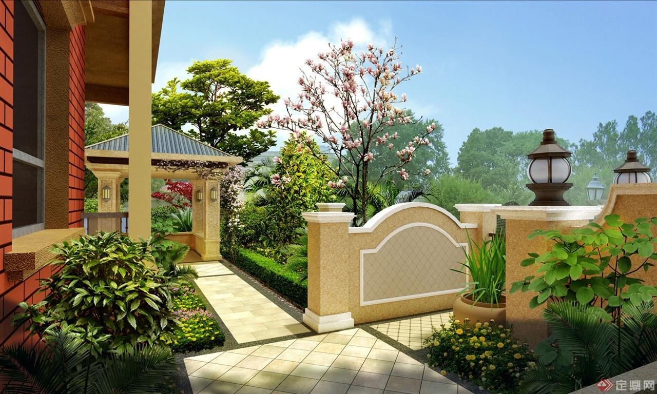 米蘭春天——別墅庭院景觀設計