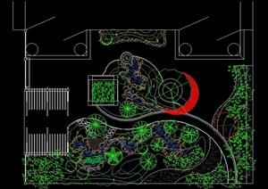 布飞盘的制作方法图形-G园林景观设计方案效果图设计素材教学资料下载